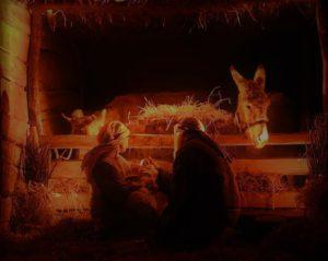 Noël à Croy - Crèche vivante pour les habitants du Vallon @ 18h00 à la Grande salle de Croy